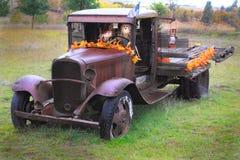 Autumn Jalopy Stock Photos
