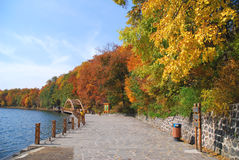 Autumn in Jilin Royalty Free Stock Photos