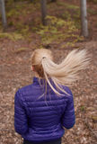 Autumn jogging Royalty Free Stock Images