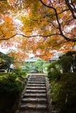 The Autumn in Jojakko-ji Temple , Kyoto,Japan Stock Photography