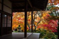 Autumn in Jojakko-ji Temple , Kyoto,Japan Royalty Free Stock Images