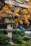 Autumn in Jojakko-ji Temple , Kyoto,Japan Royalty Free Stock Image