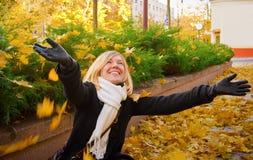 Autumn Joy Royalty Free Stock Photos
