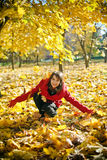Autumn Joy Royalty Free Stock Photography