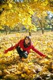 Autumn Joy Royalty Free Stock Photography