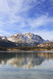 Autumn at June Lake in California Stock Photo