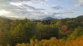 Autumn Kangamangus Loop New Hampshire stock images