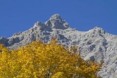 Autumn in Karwendel Stock Photo