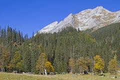 Autumn in Karwendel Stock Photography