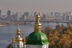 Autumn Kiev cityscape stock photography