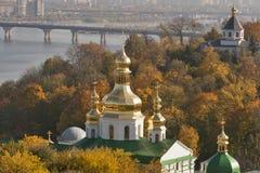 Autumn Kiev cityscape royalty free stock images