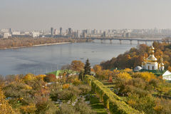 Autumn Kiev cityscape Royalty Free Stock Photo
