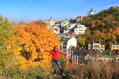 Autumn in Kiev - Indian summer Royalty Free Stock Photos