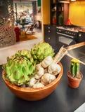 Autumn kitchen Stock Images