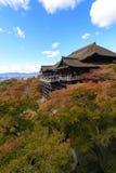 Autumn in Kiyomizu Temple, Kyoto, Japan Royalty Free Stock Photography