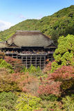 Autumn in Kiyomizu Temple, Kyoto, Japan Royalty Free Stock Photo