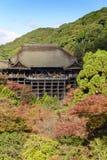 Autumn in Kiyomizu Temple, Kyoto, Japan Royalty Free Stock Photo