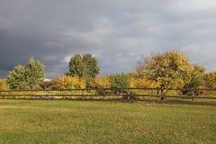 Autumn in Kolomenskoye, Moscow Stock Image