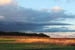 autumn krajobrazy Zdjęcia Stock
