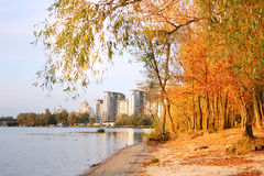 Autumn in Kyiv Stock Images