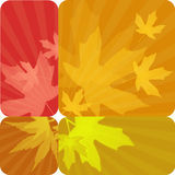 Autumn labels Royalty Free Stock Image