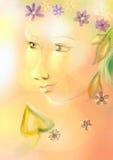 Autumn Lady Foto de archivo
