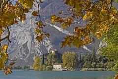 Autumn at  Lago Toblino Stock Photography