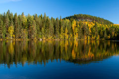 autumn on lake Stock Photos
