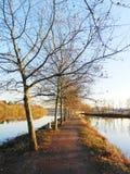 Autumn in Lake Stock Photo