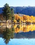 Autumn on the lake Royalty Free Stock Image