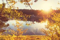 Autumn lake Royalty Free Stock Photos