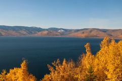Autumn at Lake Baikal Royalty Free Stock Image