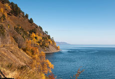 Autumn at Lake Baikal Stock Image