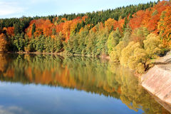 Autumn on the lake. Stock Photography