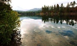 Autumn lake Stock Images