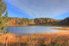 Autumn lake Ladoga, Karelia, Russia Stock Photography