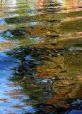 Autumn Lake Reflection Royalty Free Stock Photography