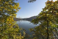 Autumn at the Lake Stock Photo