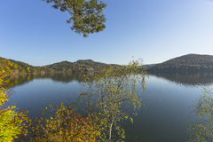 Autumn at the Lake Stock Photography