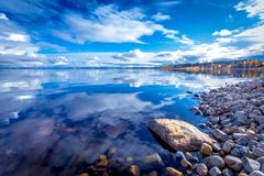 Free Autumn Lake Scene From Sotkamo, Finland. Stock Photography - 138045112