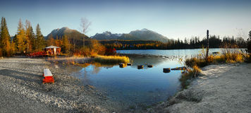 Autumn Lake Scenery Royalty Free Stock Images