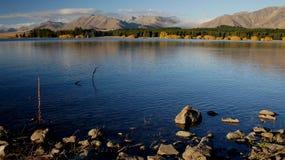 Autumn at Lake Tekapo NZ (8) Royalty Free Stock Photography
