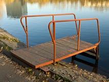 Autumn lake view Royalty Free Stock Photos