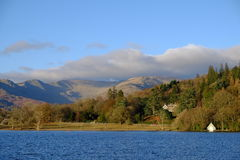 Autumn on Lake Windermere English Lake District Royalty Free Stock Photos