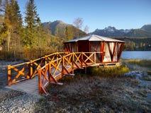 Autumn Lakeside Scenery Royalty Free Stock Photo
