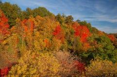 Autumn landscape. In Georgetown, Ontario Stock Photo