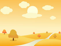 Autumn_landscape Royalty Free Stock Photography