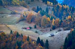 Autumn landscape. In the mountains Royalty Free Stock Photography