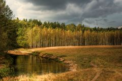 Autumn landscape. Royalty Free Stock Photo