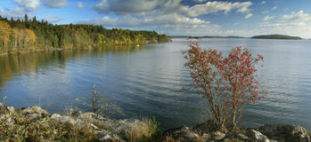 Autumn landscape. Beautiful autumn landscape in Sweden Royalty Free Stock Image